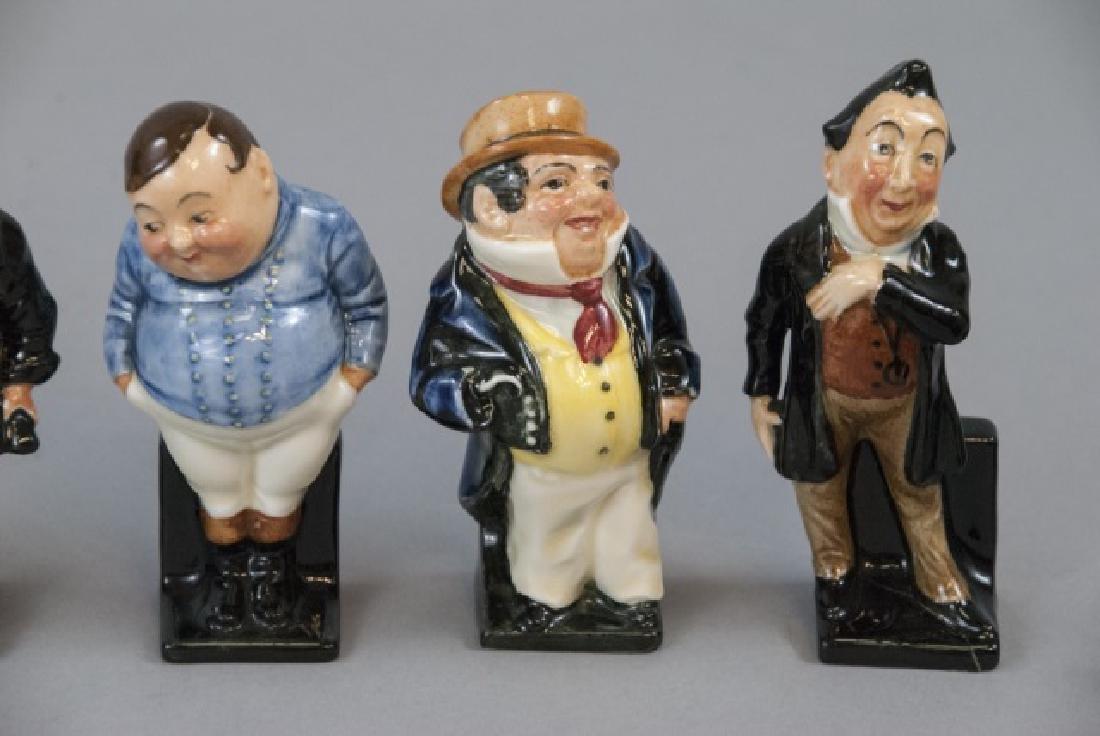 Set Of 14 Royal Doulton Porcelain Dickens Figures - 3