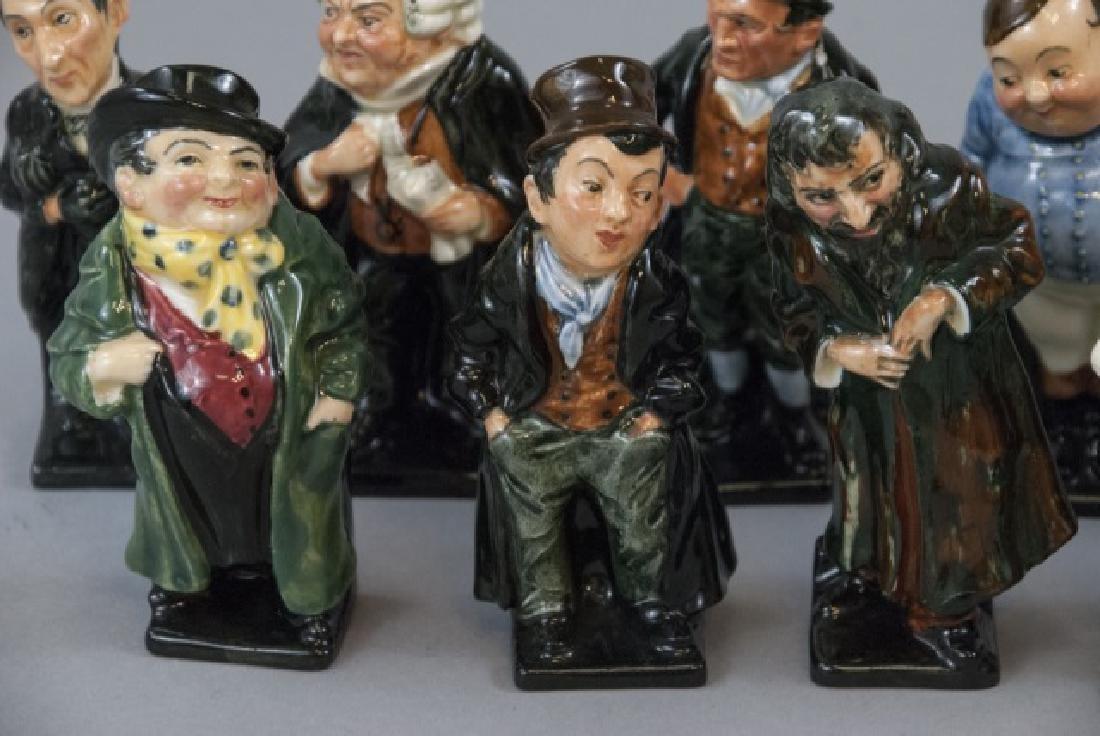 Set Of 14 Royal Doulton Porcelain Dickens Figures - 6