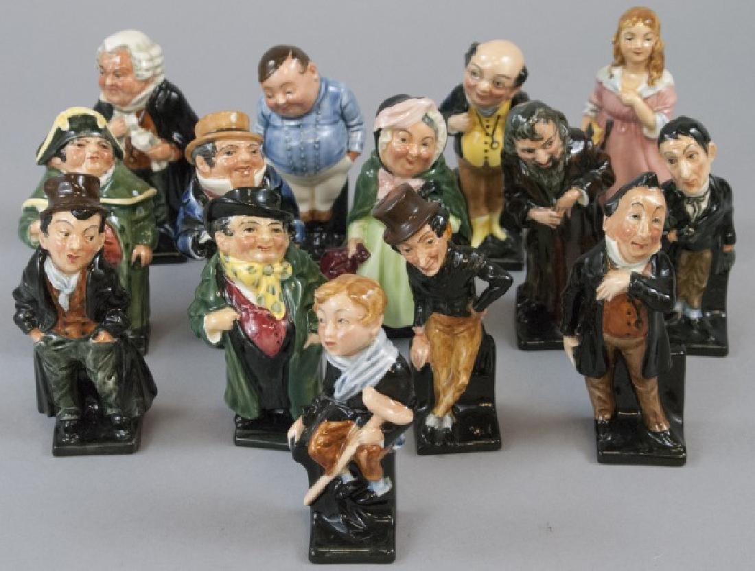 Set Of 14 Royal Doulton Dickens Porcelain Figures