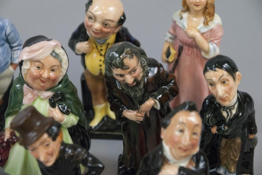 Set Of 14 Royal Doulton Dickens Porcelain Figures - 3
