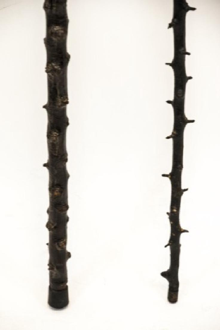 Two Blackthorn Shillelagh Canes / Walking Sticks - 4