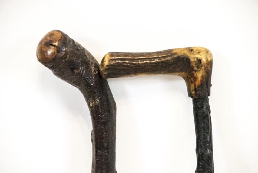 Two Blackthorn Shillelagh Canes / Walking Sticks - 6