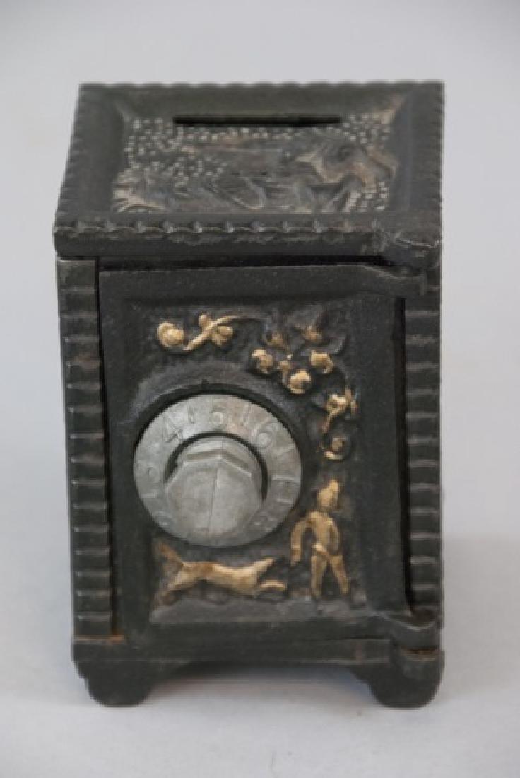 Antique NY Telephone Padlock & Toy Bank - 5