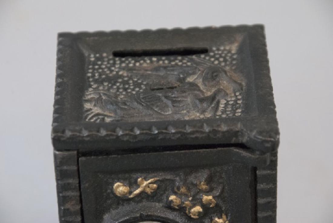 Antique NY Telephone Padlock & Toy Bank - 6