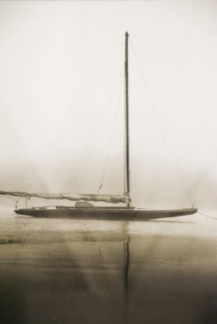 Three Framed Black & White Boat Photographs - 2