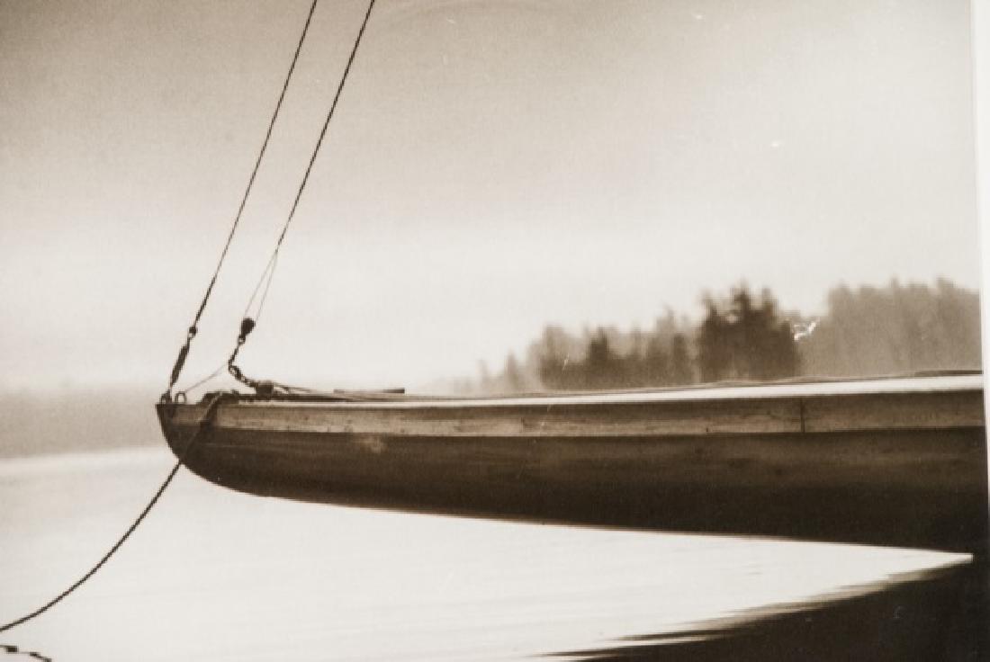 Three Framed Black & White Boat Photographs - 4