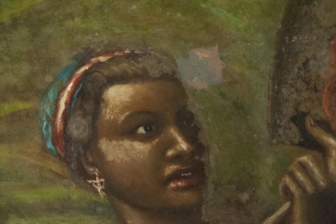 Contemporary Roman Style Nude Acrylic Painting - 10