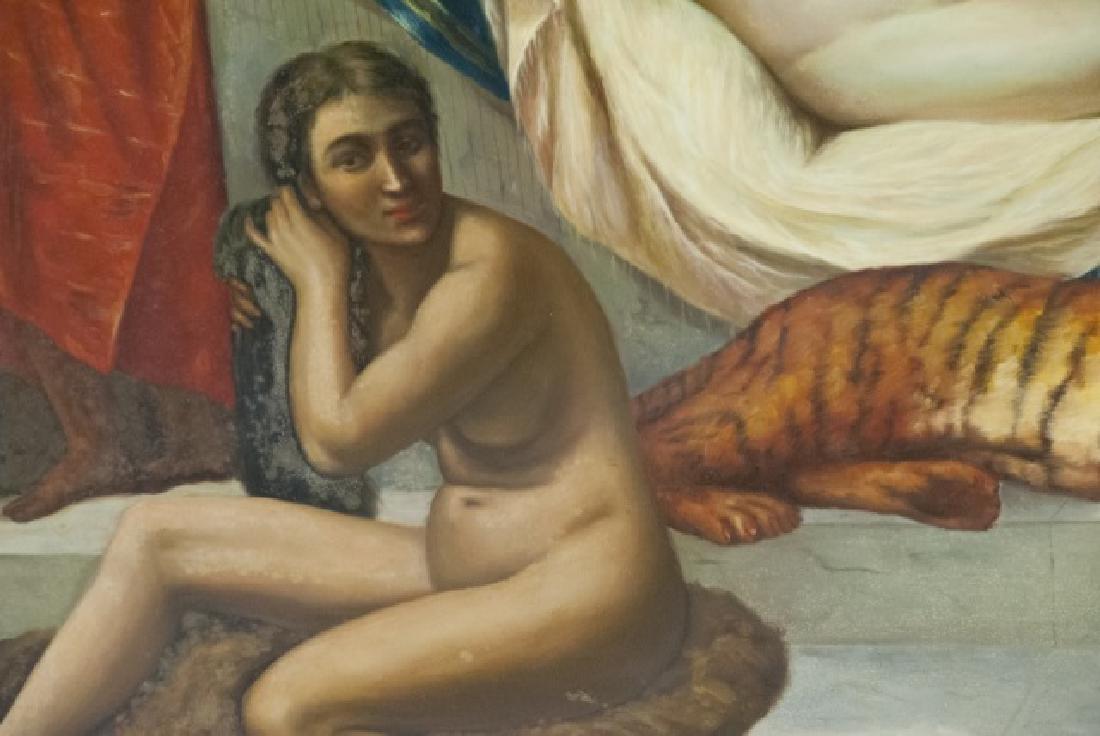 Contemporary Roman Style Nude Acrylic Painting - 3