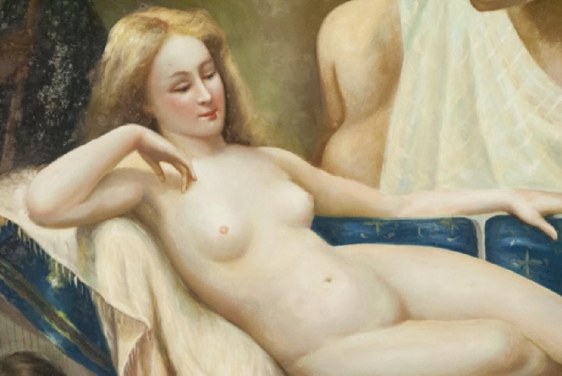 Contemporary Roman Style Nude Acrylic Painting - 4