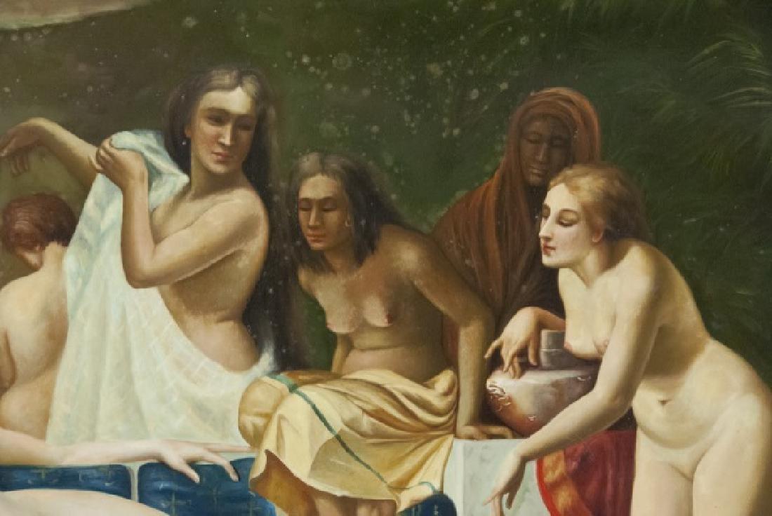 Contemporary Roman Style Nude Acrylic Painting - 5