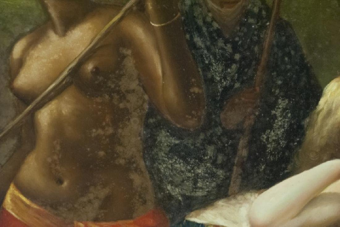 Contemporary Roman Style Nude Acrylic Painting - 9
