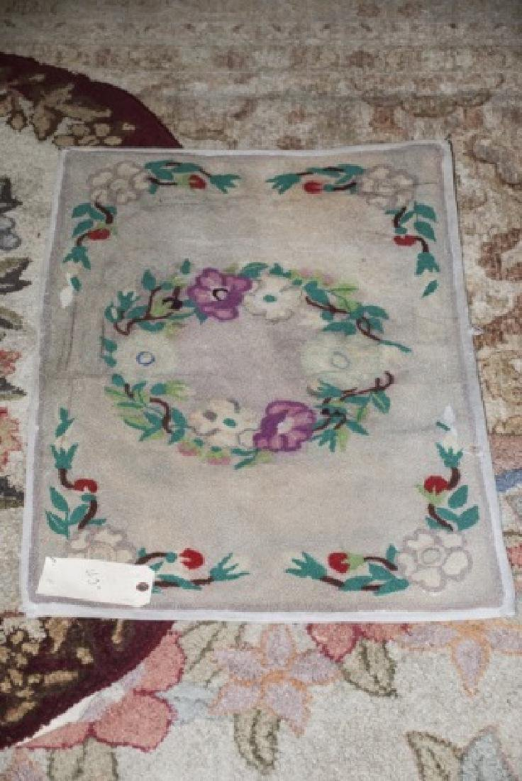 Country American / Primitive Style Throw Rugs - 2