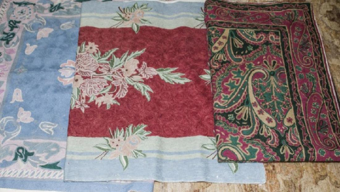 Country American / Primitive Style Throw Rugs