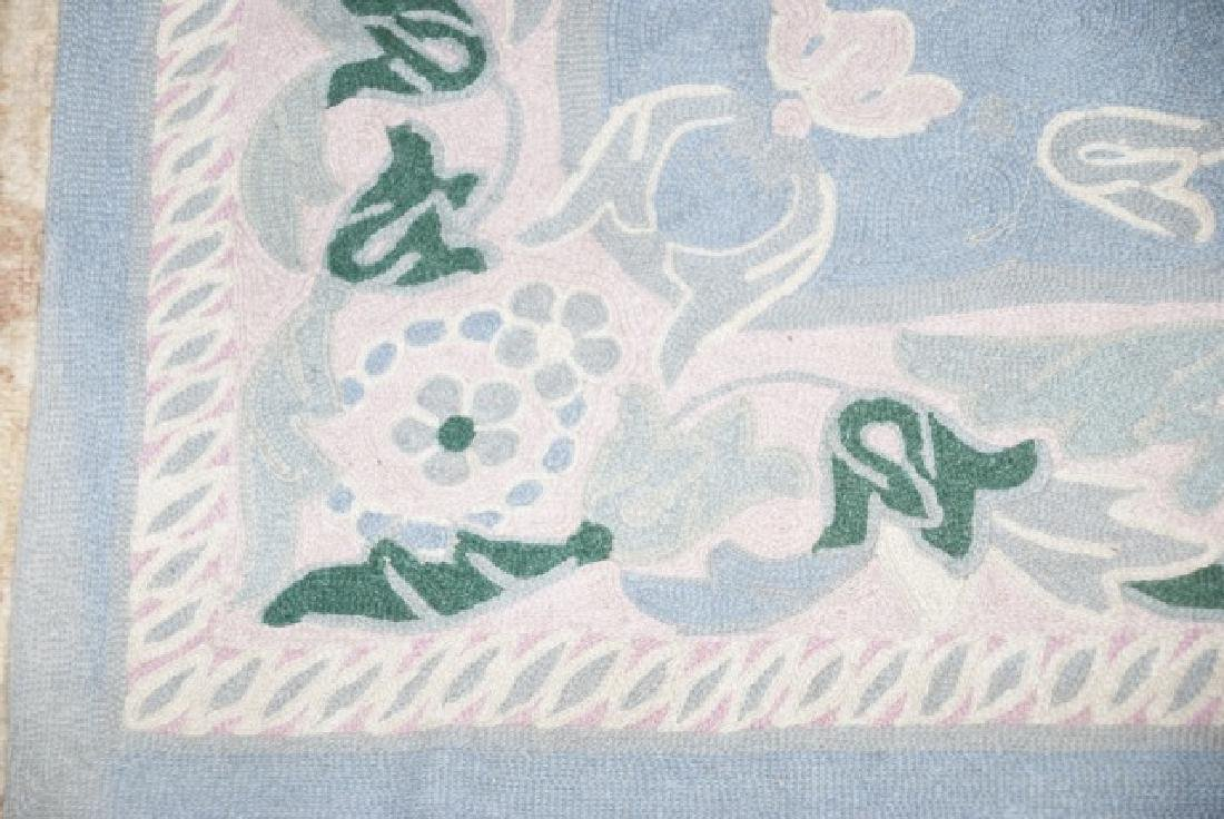Country American / Primitive Style Throw Rugs - 4