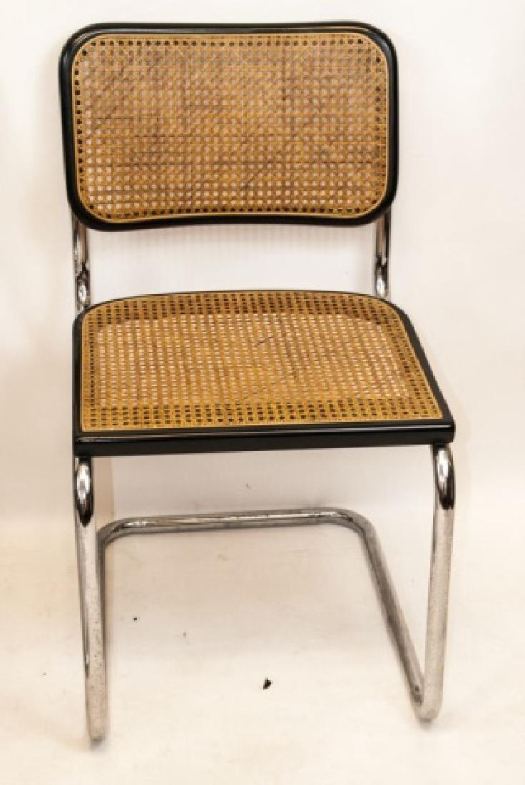 Four Mid Century Modern Chairs W/ Metal Frames - 3