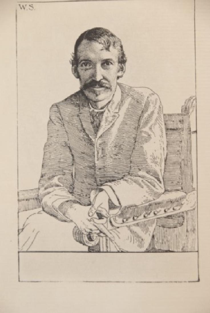 Antique 20 Book Set Of Robert Louis Stevenson Work - 2