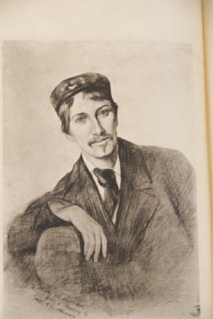 Antique 20 Book Set Of Robert Louis Stevenson Work - 4