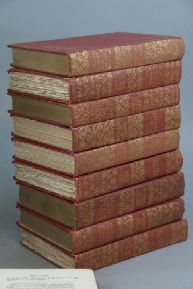 Antique 20 Book Set Of Robert Louis Stevenson Work - 6
