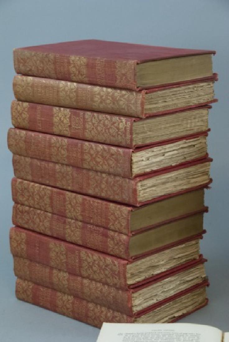 Antique 20 Book Set Of Robert Louis Stevenson Work - 7