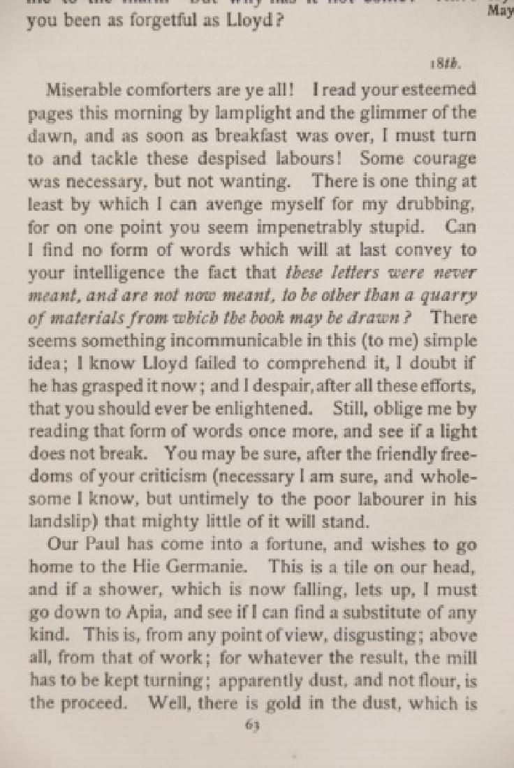 Antique 20 Book Set Of Robert Louis Stevenson Work - 9