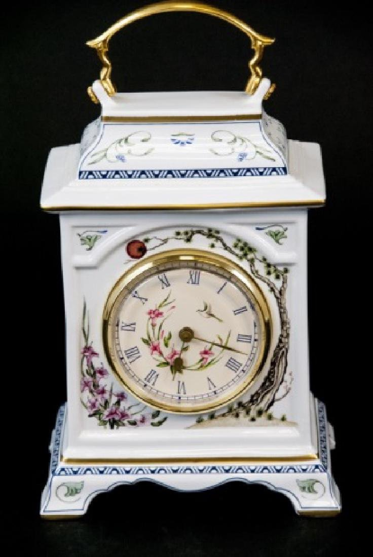 Franklin Mint  Asian Style Desk/Tableside Clock