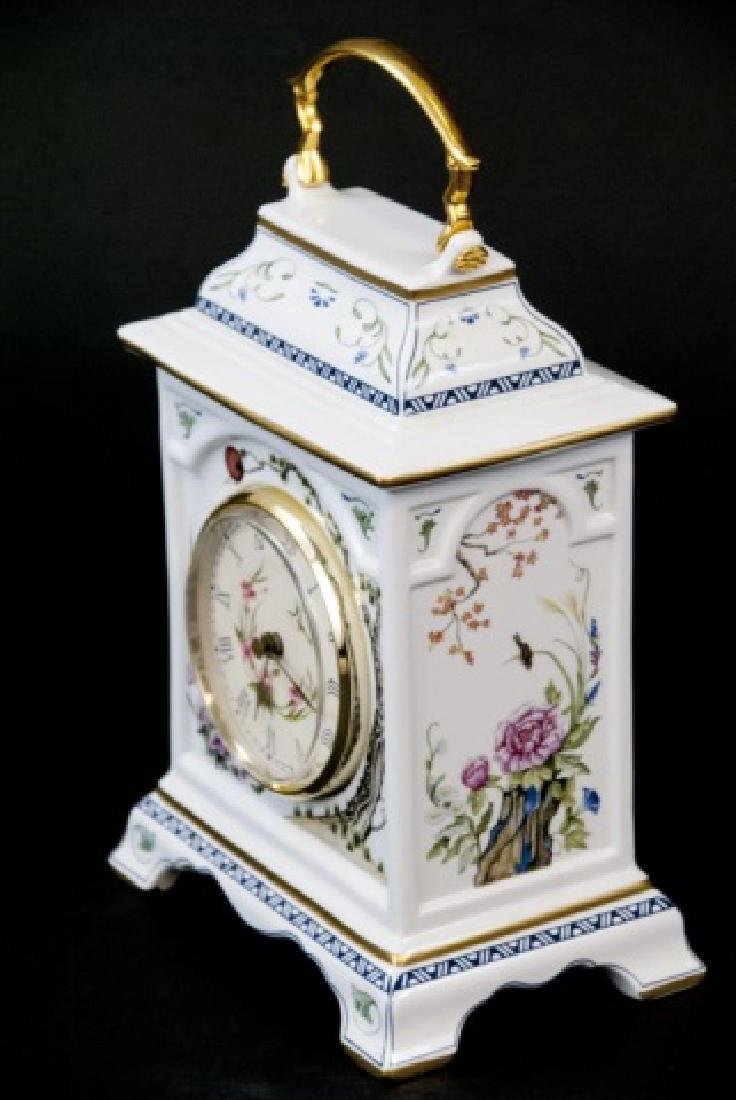 Franklin Mint  Asian Style Desk/Tableside Clock - 7