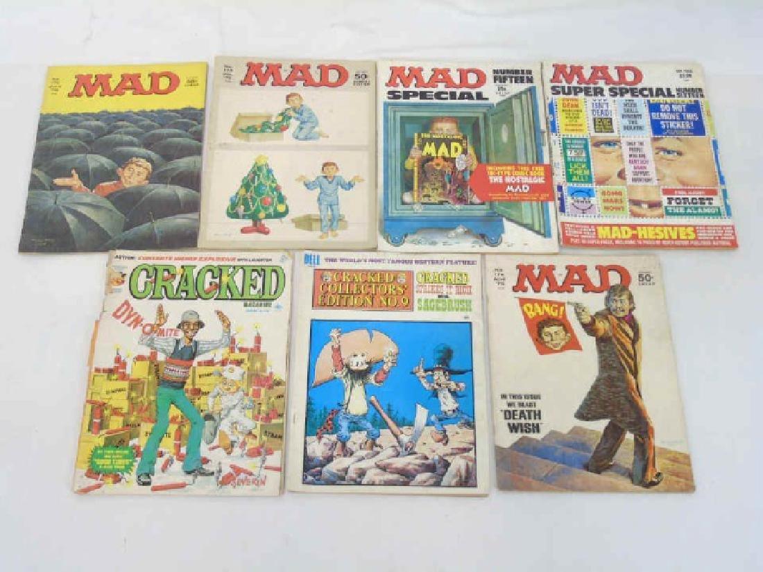 Vintage MAD & CRACKED '70's Magazines (7)