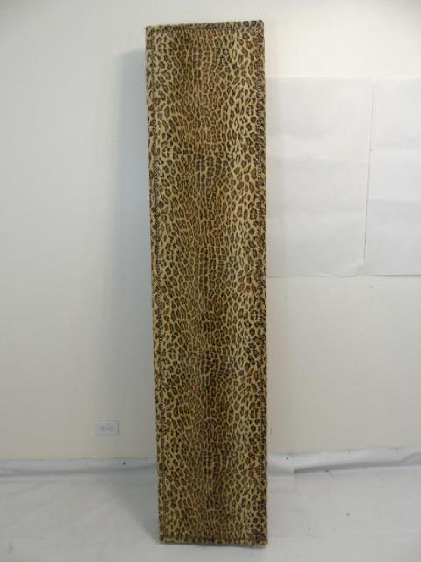 Custom Ralph Lauren Leopard Fabric Screen - 3
