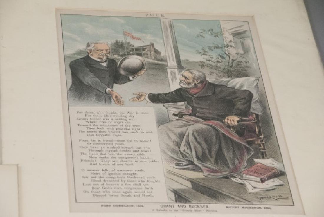 Lot Of 19th Century Political Cartoons and Prints - 2