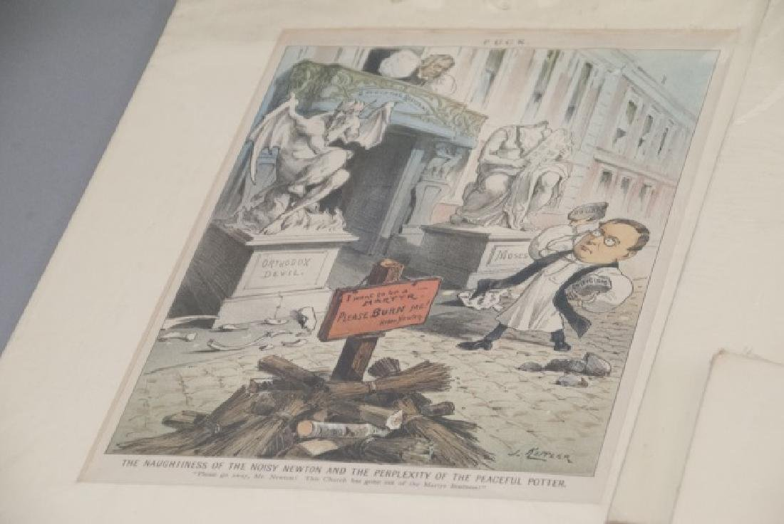 Lot Of 19th Century Political Cartoons and Prints - 4