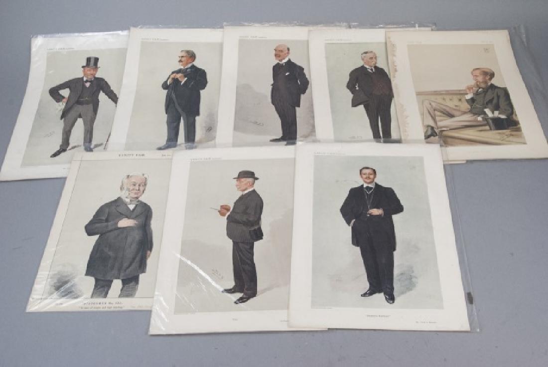 19th Century Vanity Fair Magazine Prints