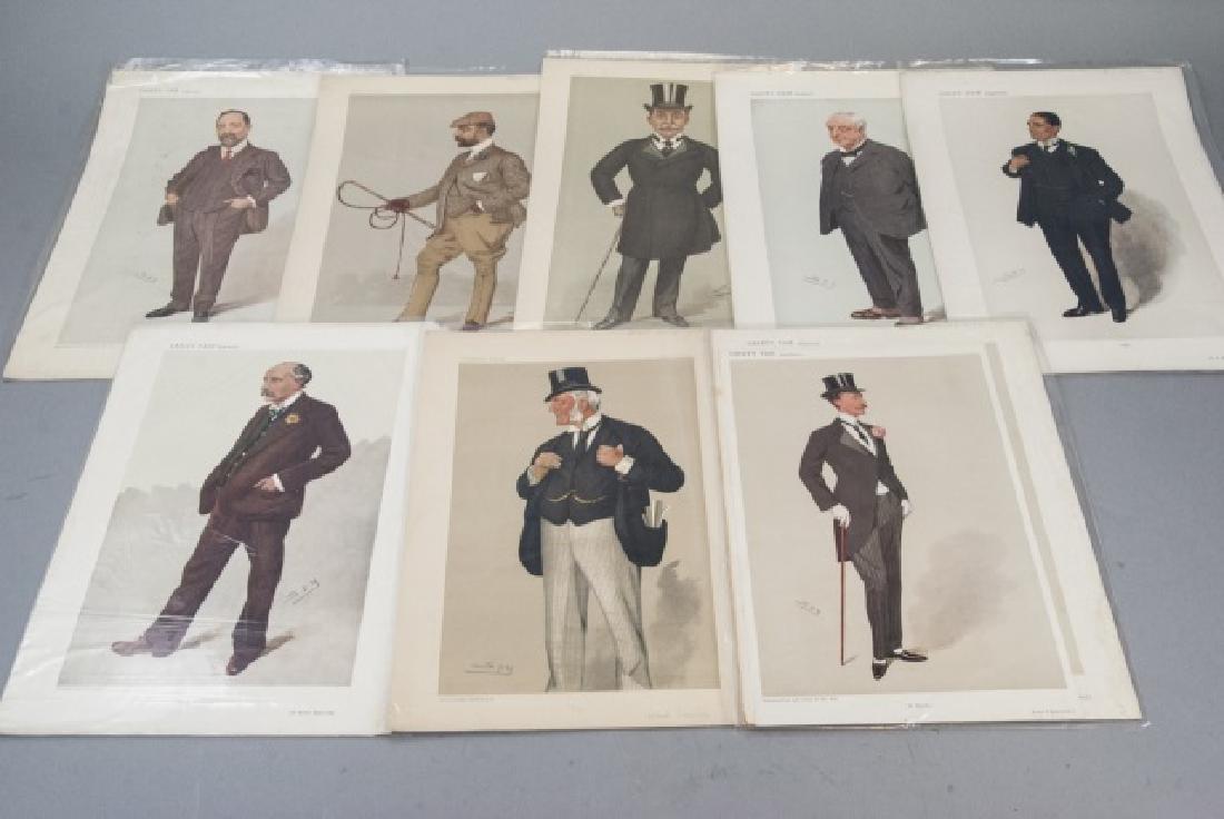 19th Century SPY Vanity Fair Magazine Prints