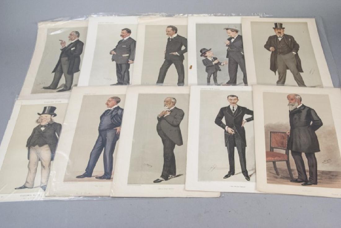 19th Century Vanity Fair SPY Lithography Prints