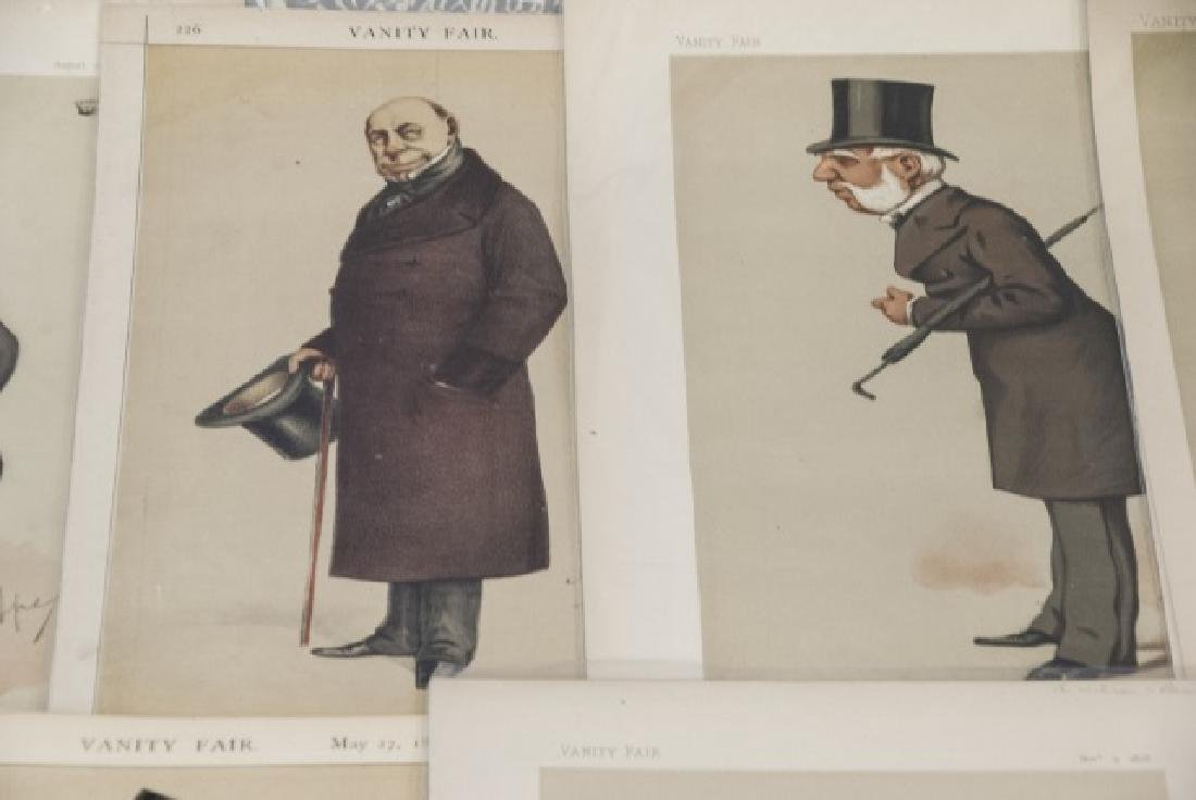 19th Century Vanity Fair Apey Lithography Prints - 6