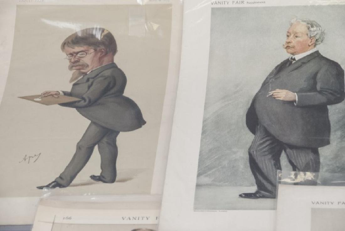 19th Century Vanity Fair Lithography Prints - 5