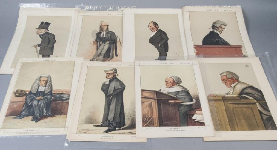 19th Century Vanity Fair APEY Lithography Prints