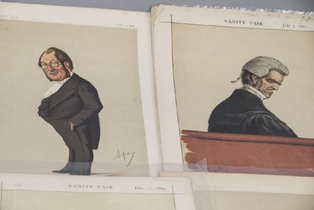 19th Century Vanity Fair APEY Lithography Prints - 2