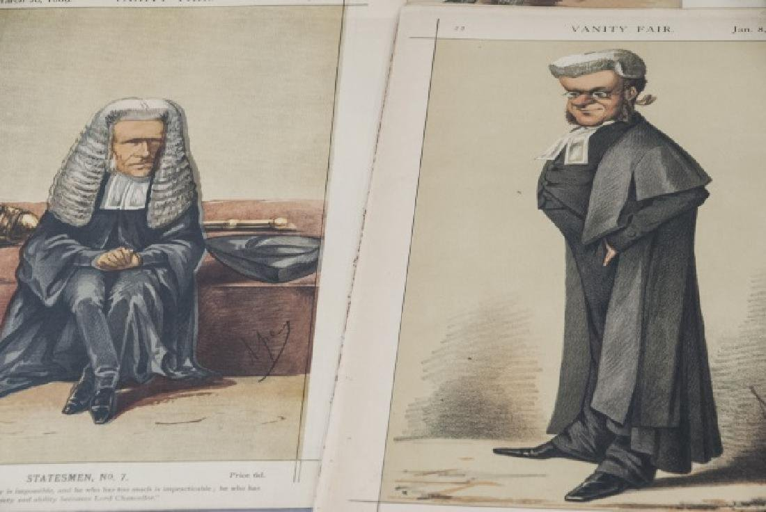19th Century Vanity Fair APEY Lithography Prints - 4