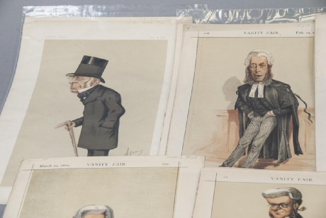 19th Century Vanity Fair APEY Lithography Prints - 5