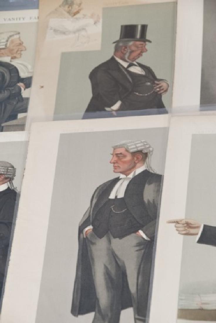 19th Century Vanity Fair 10 SPY Lithography Prints - 7