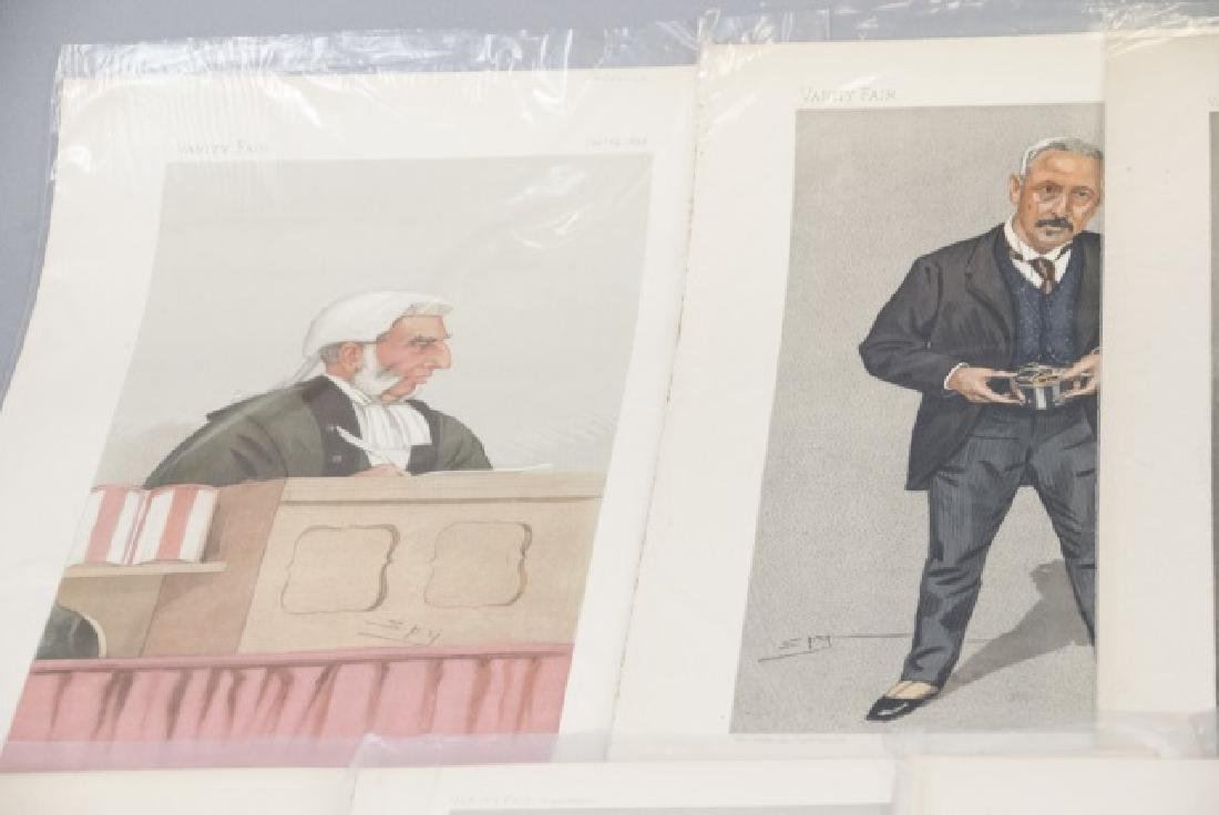 19th Century Vanity Fair 10 SPY Lithography Prints - 7