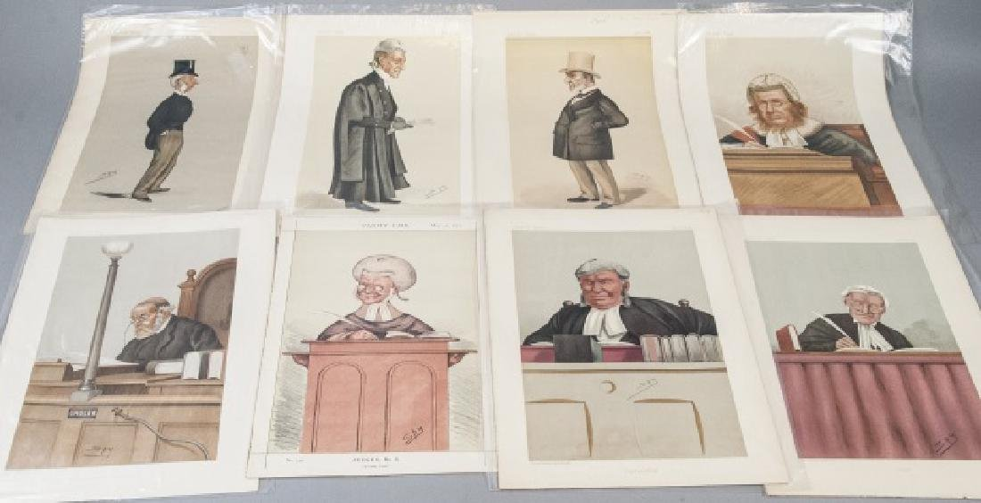 19th Century Vanity Fair 8 SPY Lithography Prints