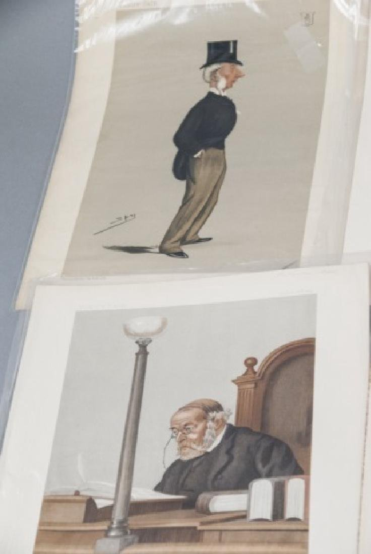 19th Century Vanity Fair 8 SPY Lithography Prints - 5