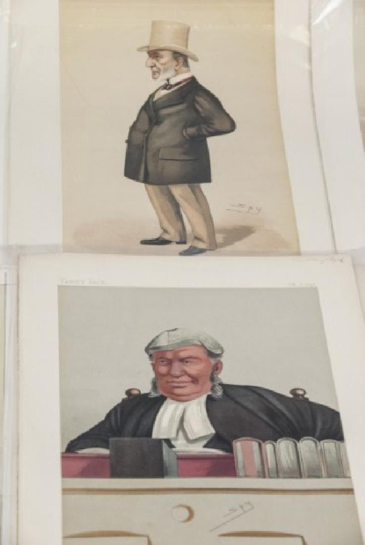 19th Century Vanity Fair 8 SPY Lithography Prints - 7