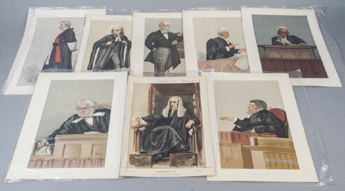 19th Century Vanity Fair Lithography Prints