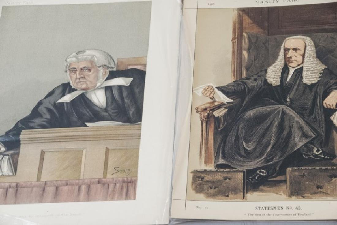 19th Century Vanity Fair Lithography Prints - 3