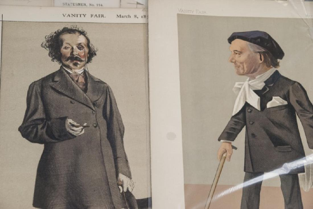 19th Century Vanity Fair Lithography Prints - 8