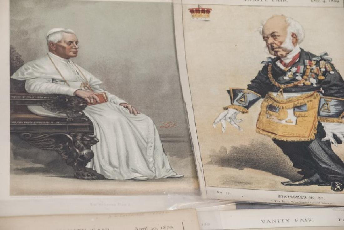19th Century Vanity Fair Lithography Prints - 7