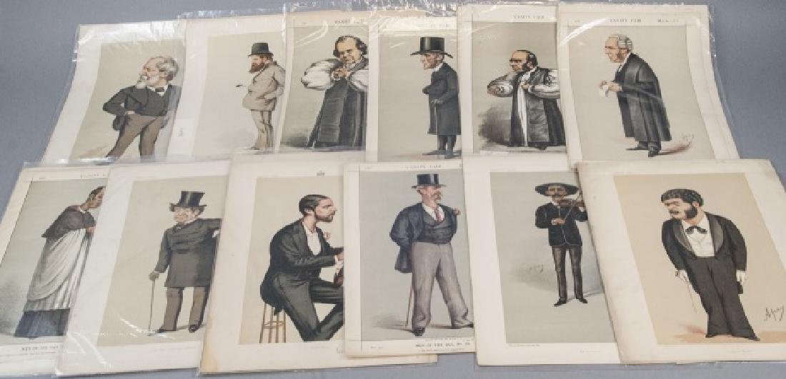 19th Century Vanity Fair APEY Lithography Prints,