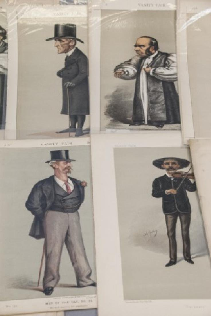 19th Century Vanity Fair APEY Lithography Prints, - 2